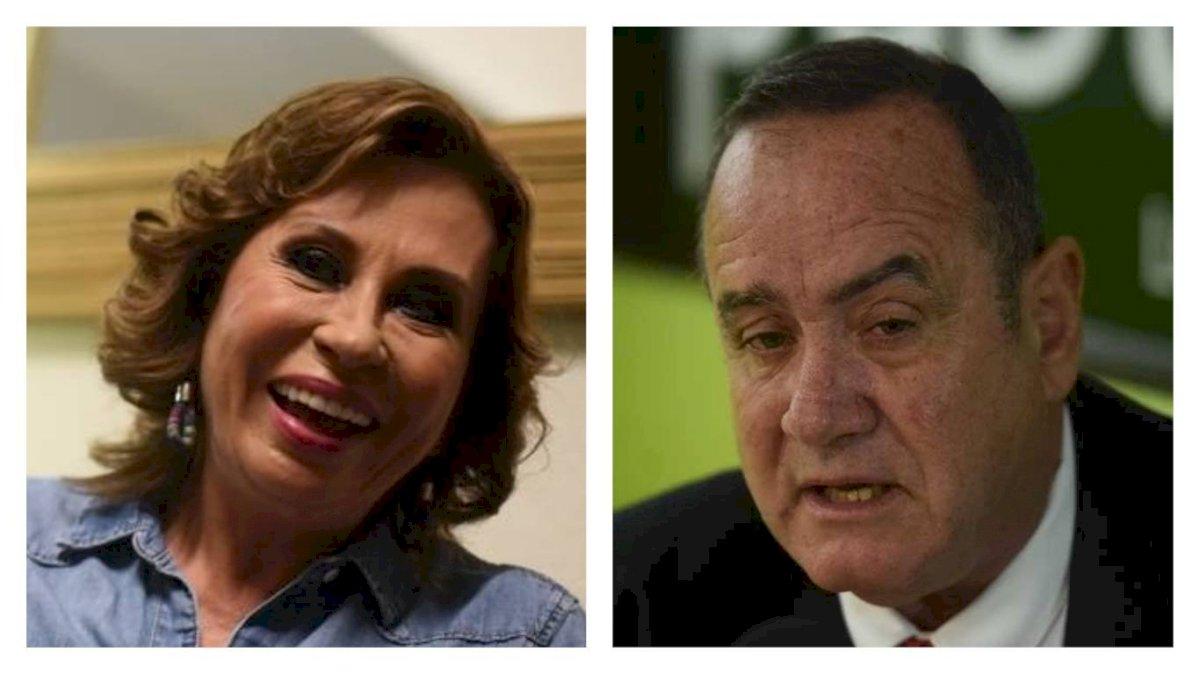 Foto | Sandra Torres y Alejandro Giamattei disputan la segunda vuelta electoral este domingo