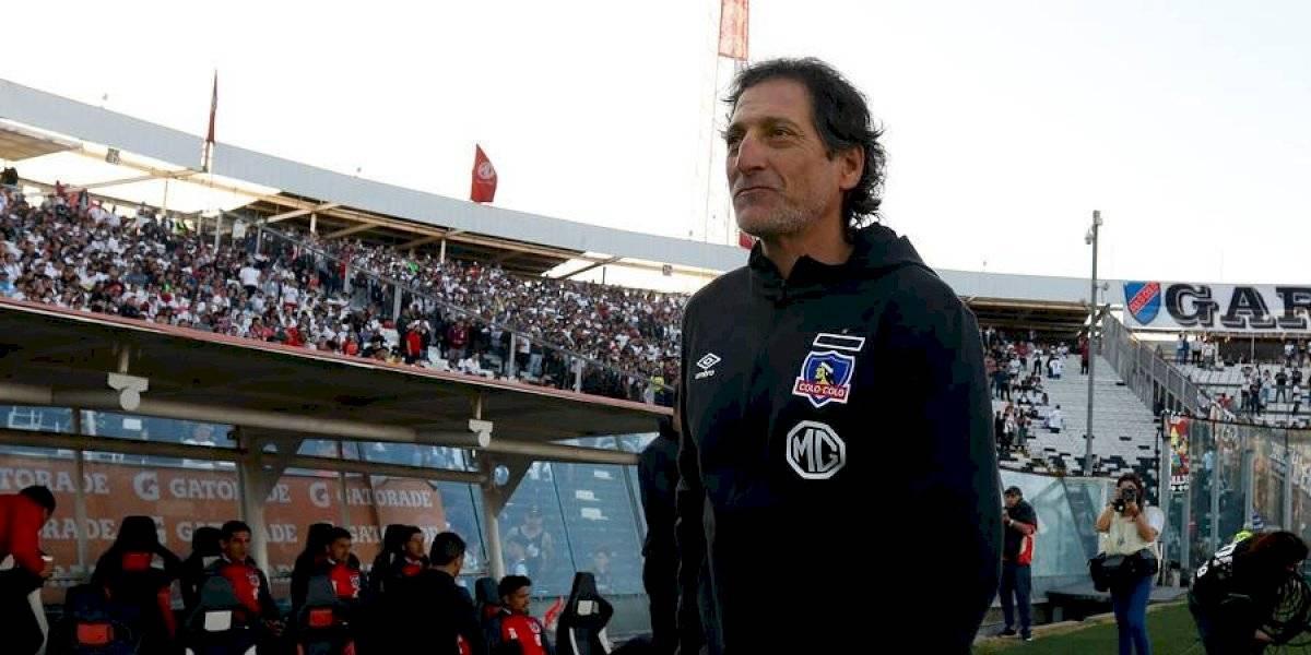 Mario Salas recurre a los referentes para salir de la crisis y volver a los abrazos en Colo Colo