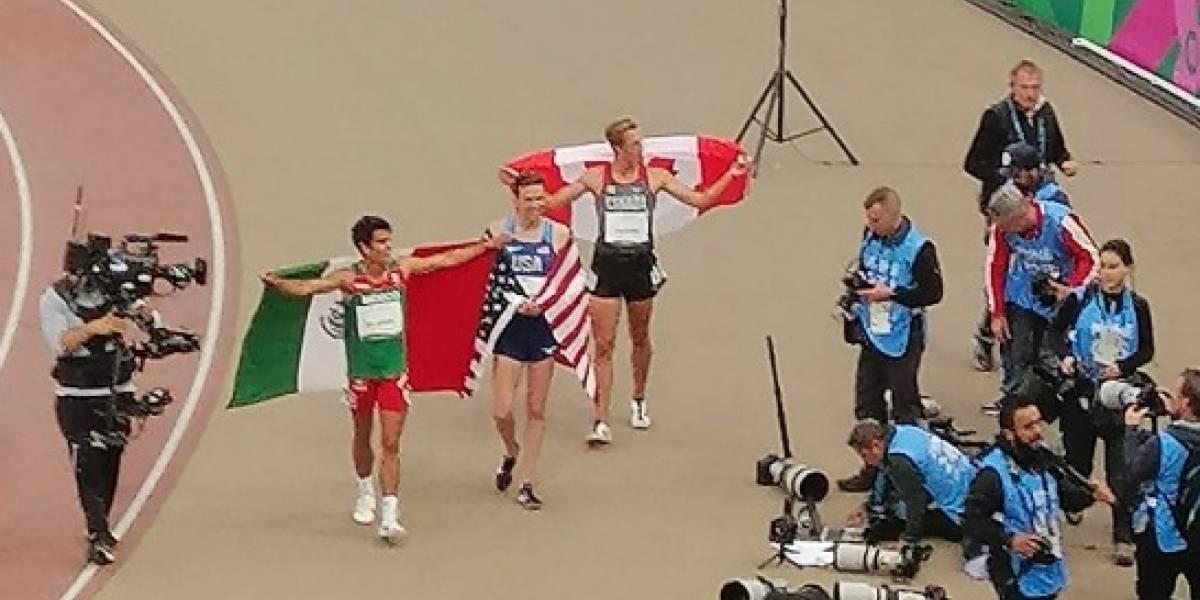 José Carlos Villarreal gana oro 27 para México en 1500 metros