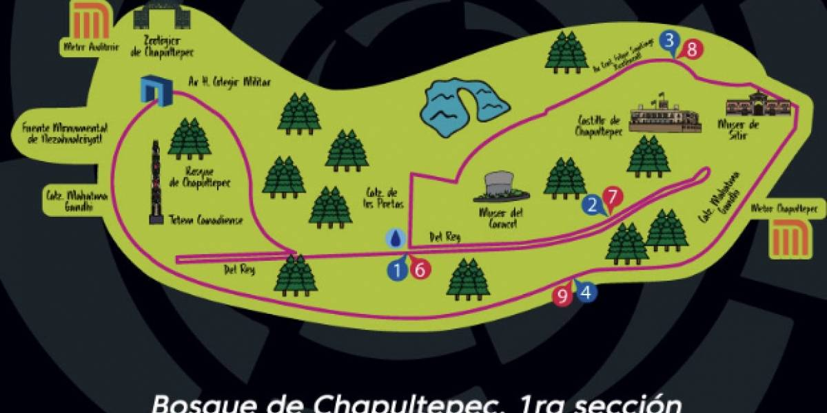 Se llevará a cabo la carrera de LaLiga en el Bosque de Chapultepec