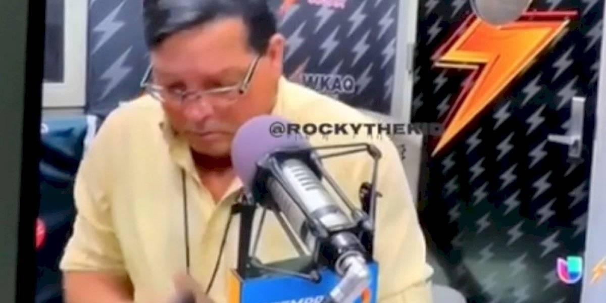 ¡Y en vivo! Rubén Sánchez cae en broma de los gemidos