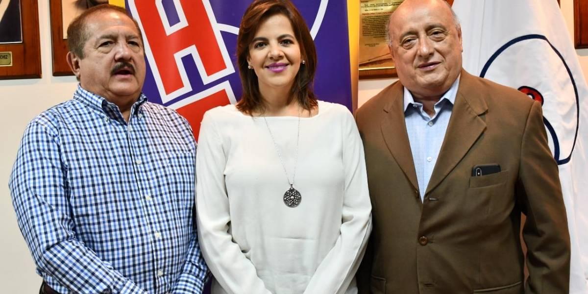 María Paula Romo, dispuesta a trabajar con GAD's por la seguridad ciudadana