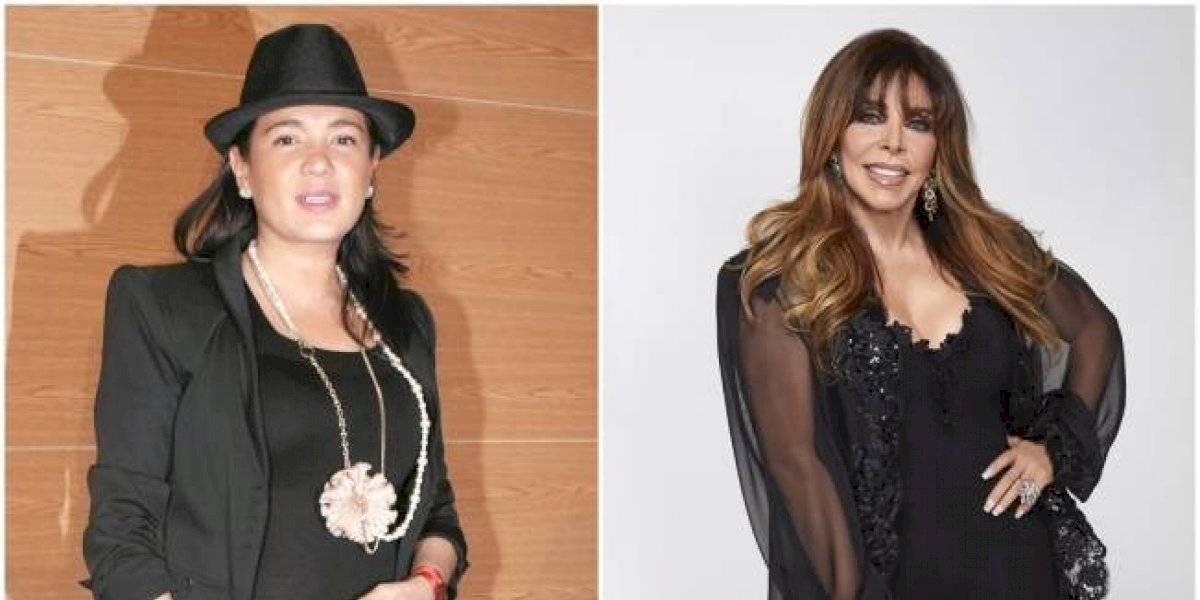 Filtran foto de Yolanda Andrade y Verónica Castro en bikini y que revelaría su relación