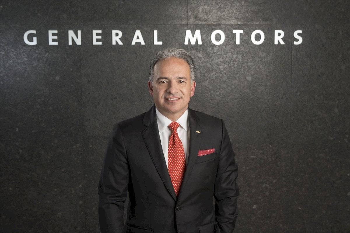 Francisco Garza, asume como líder de las operaciones de General Motors en México, Centroamérica y el Caribe Foto: General Motors