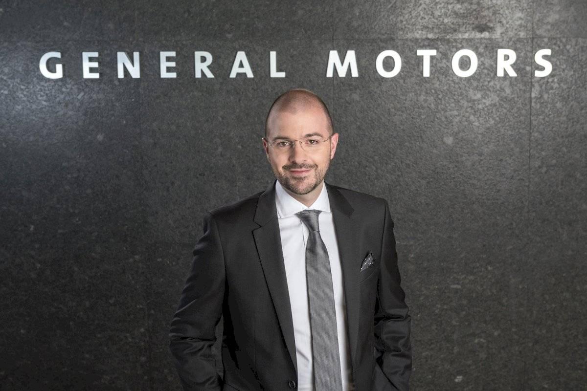 Juan Carlos García, vicepresidente de Ventas, Servicio y Mercadotecnia de GM de México Foto: General Motors