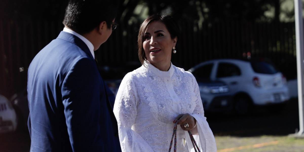 Dan a Rosario Robles suspensión contra captura, pagará 100 mil pesos