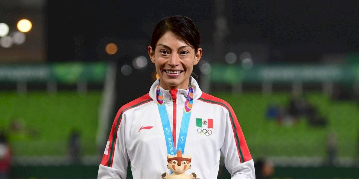 Laura Galván conquista la medalla de oro en atletismo para México