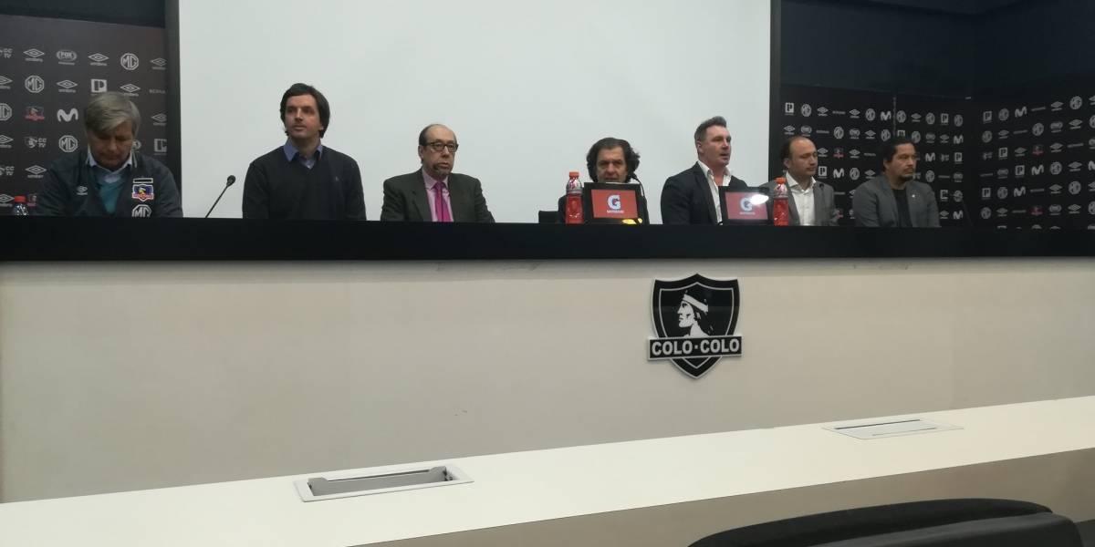 Marcelo Barticciotto materializa su regreso a Colo Colo como coordinador del proyecto del nuevo estadio Monumental