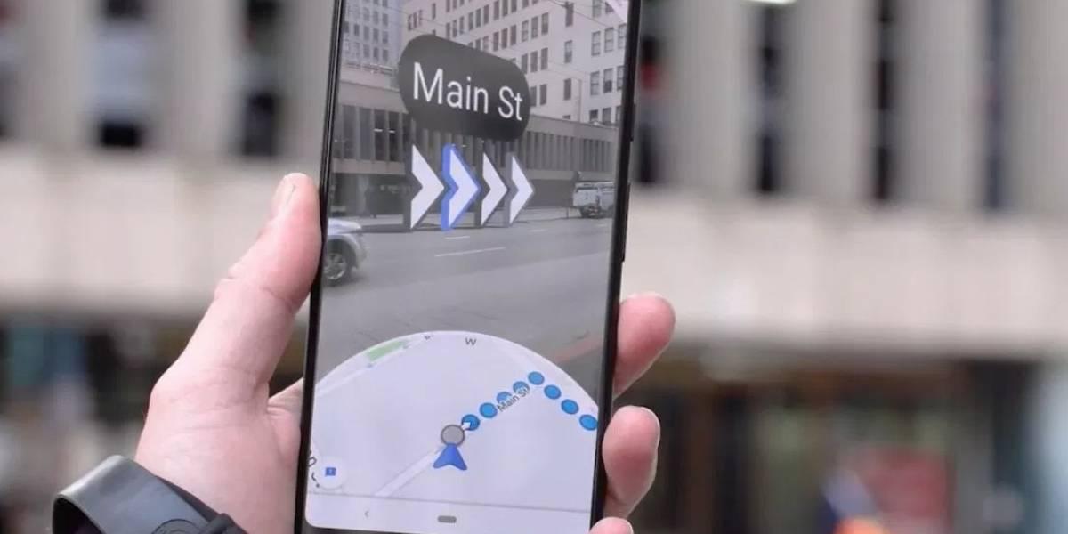 Así es como podrás utilizar el Live View de Google Maps