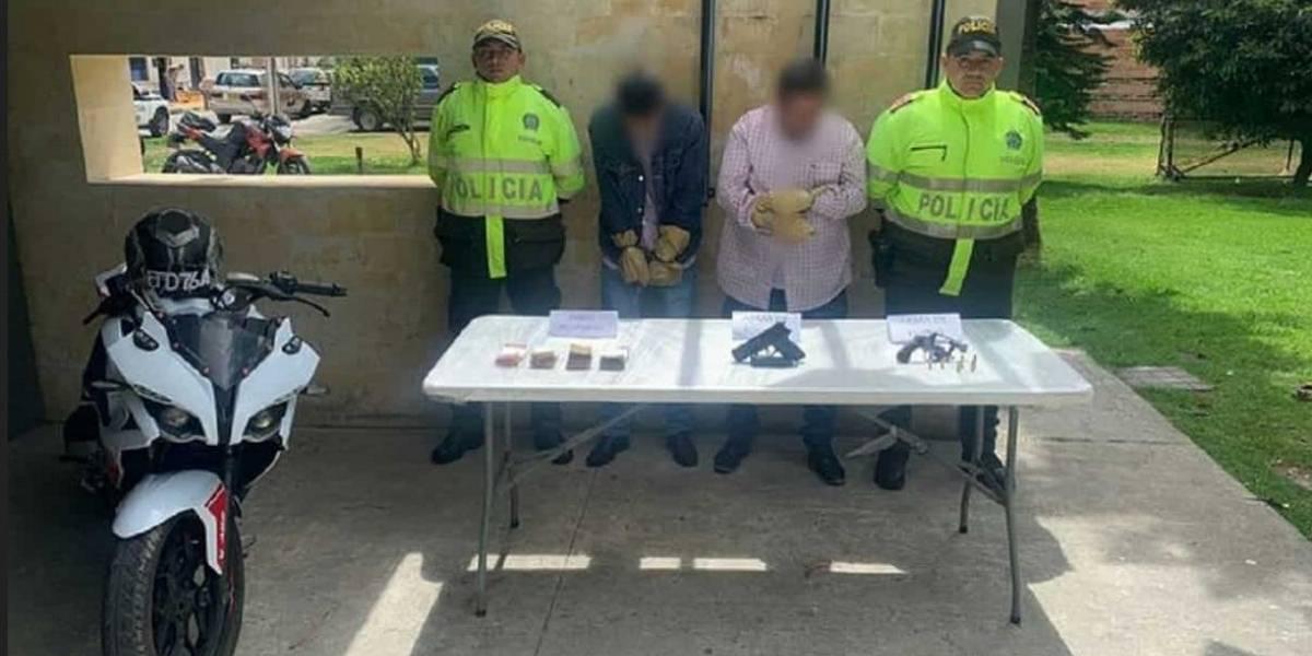 Así capturaron a los responsables de la balacera en el norte de Bogotá