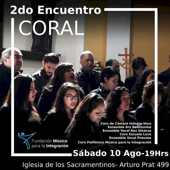 Invitación Encuentro Coral