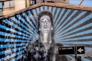 Mural en honor a Gustavo Cerati