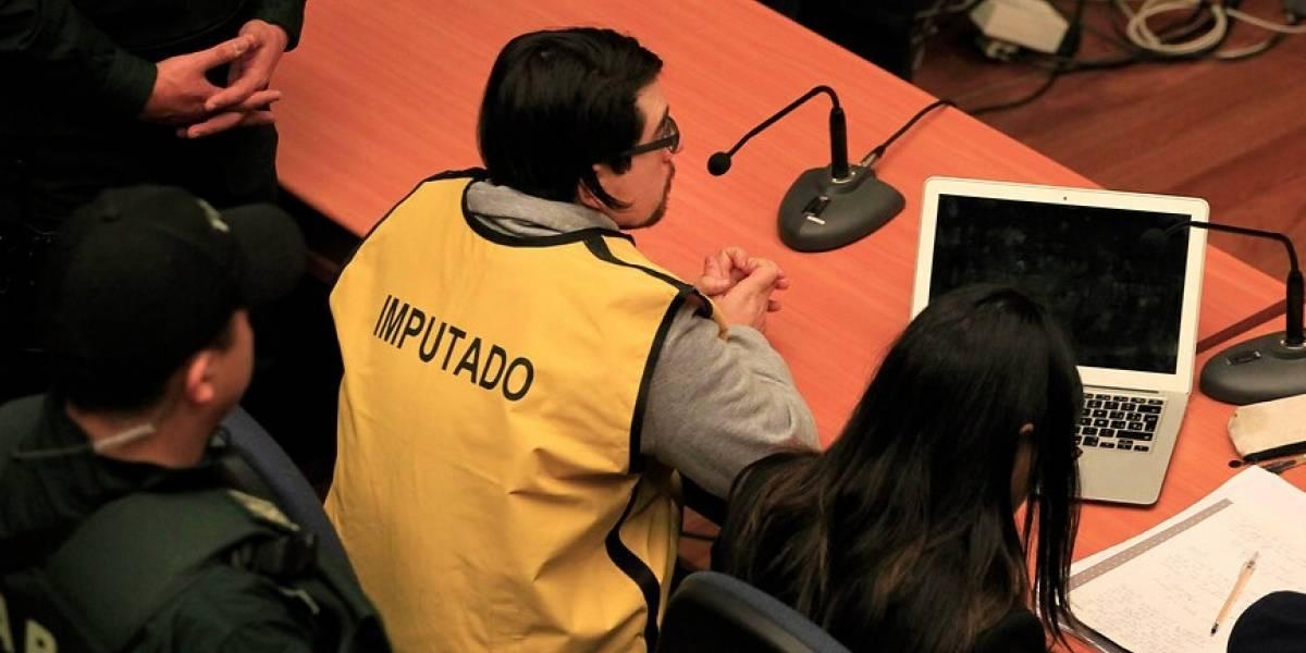 Fiscalía Regional Metropolitana formalizó por seis delitos a Camilo Gajardo Escalona