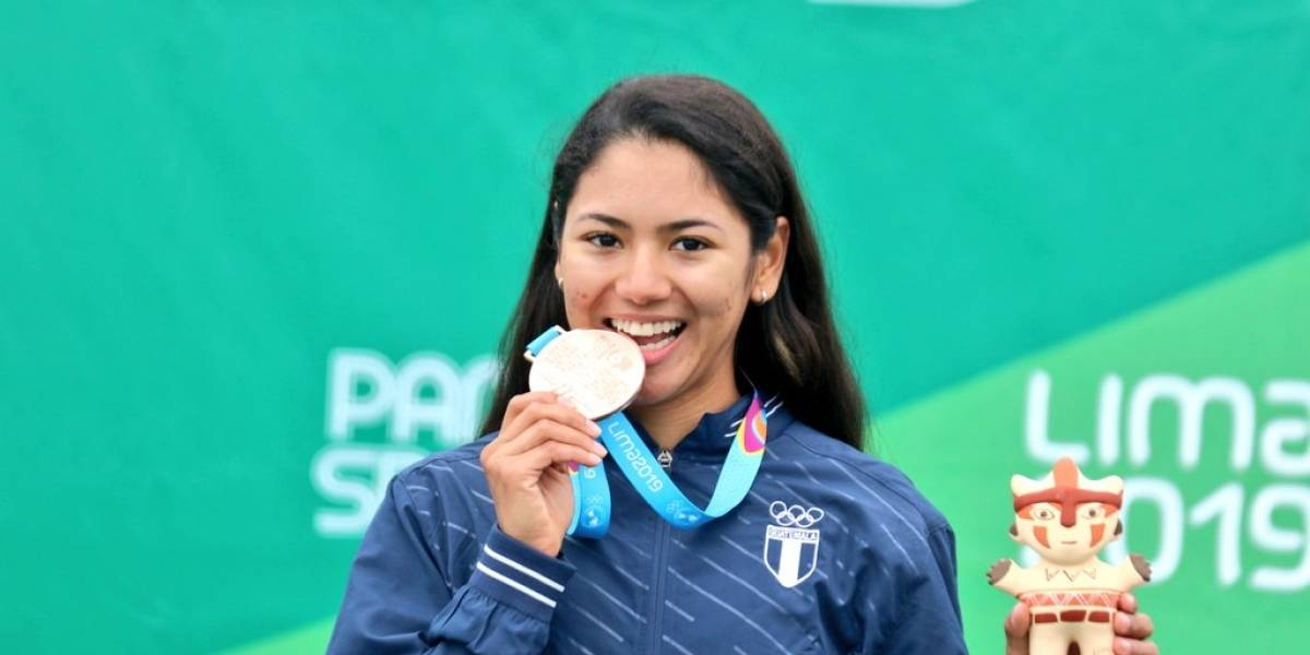 Medalla de bronce histórica para Guatemala