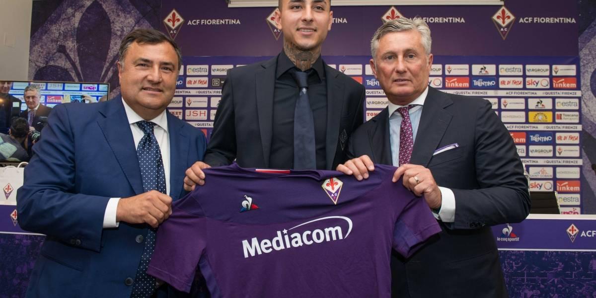 """Erick Pulgar reveló por qué se decidió por la Fiorentina: """"Hablé con David Pizarro y él me ayudó a elegir"""""""