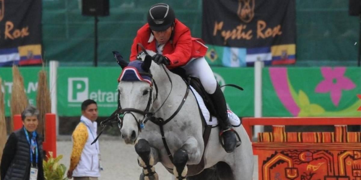 Equitador Ignacio Montesinos clasificó a los Juegos Olímpicos junto a su caballo Cornet Boy