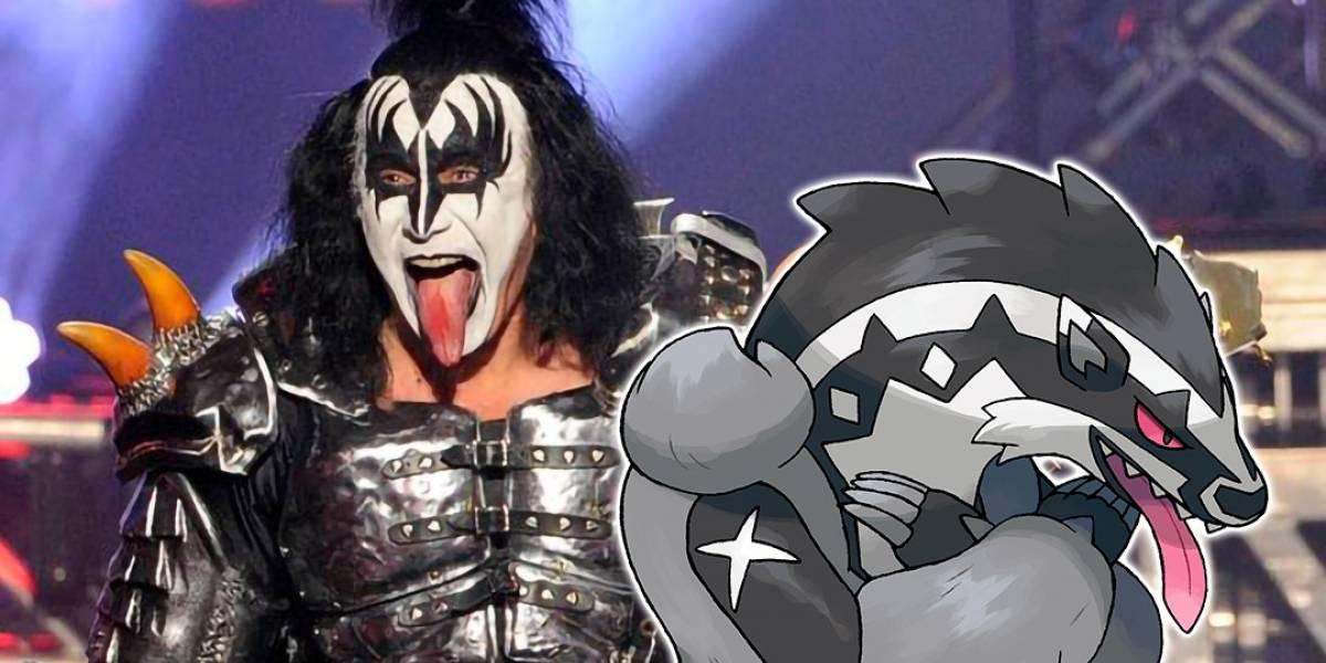 """Gene Simmons de Kiss está """"halagado"""" por el parecido con un nuevo Pokémon"""