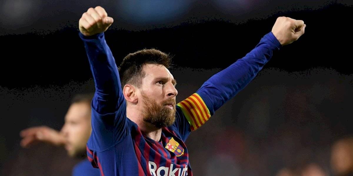 Messi vence a Cristiano en el mejor gol del año de la UEFA