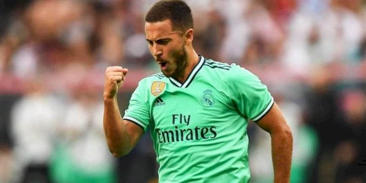 Eden Hazard utilizará un mítico dorsal en el Real Madrid