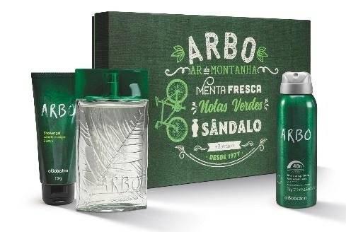 Kit Arbo O Boticário Preço sugerido: R$ 125,90 www.oboticario.com.br