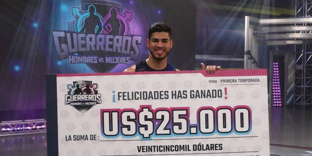 """""""Chino"""" se lleva los 25 mil dólares de """"Guerreros: Hombres vs. Mujeres"""""""