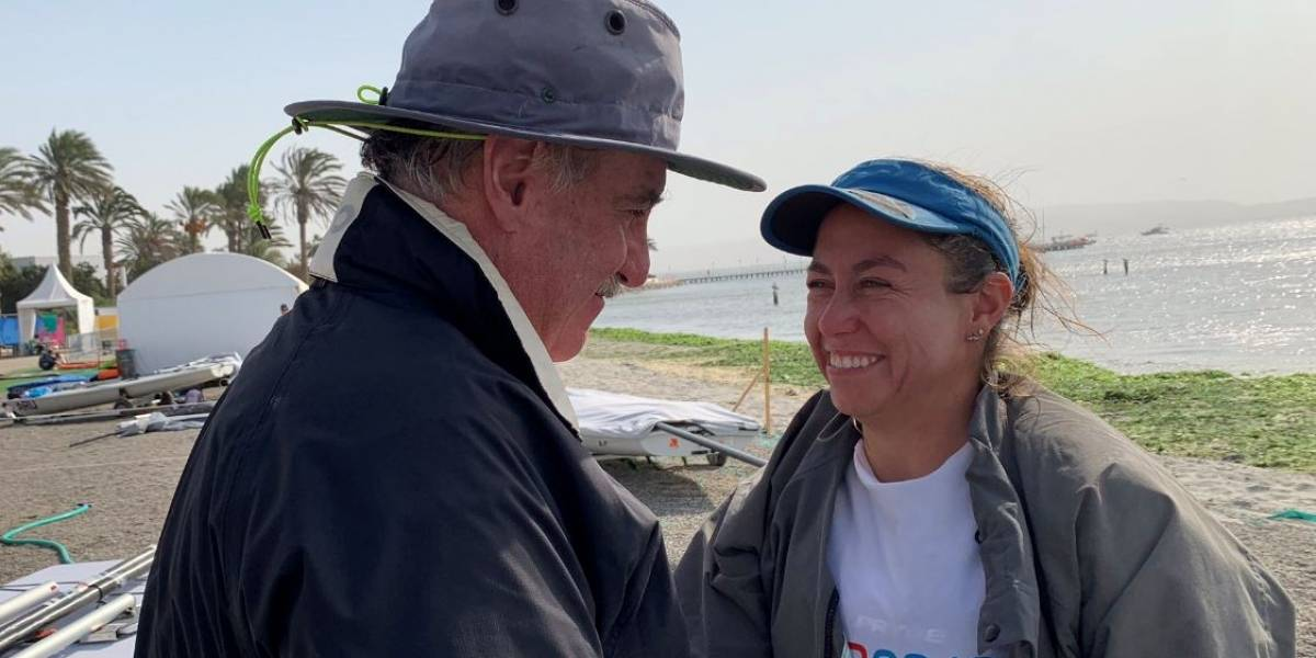 Isabella Maegli logra clasificación a Tokio 2020 y lo celebra con su padre
