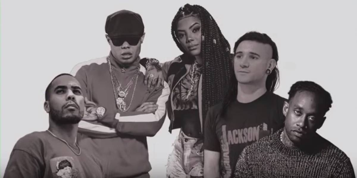 Para tudo! Ludmilla, MC Lan e Skrillex lançaram música juntos