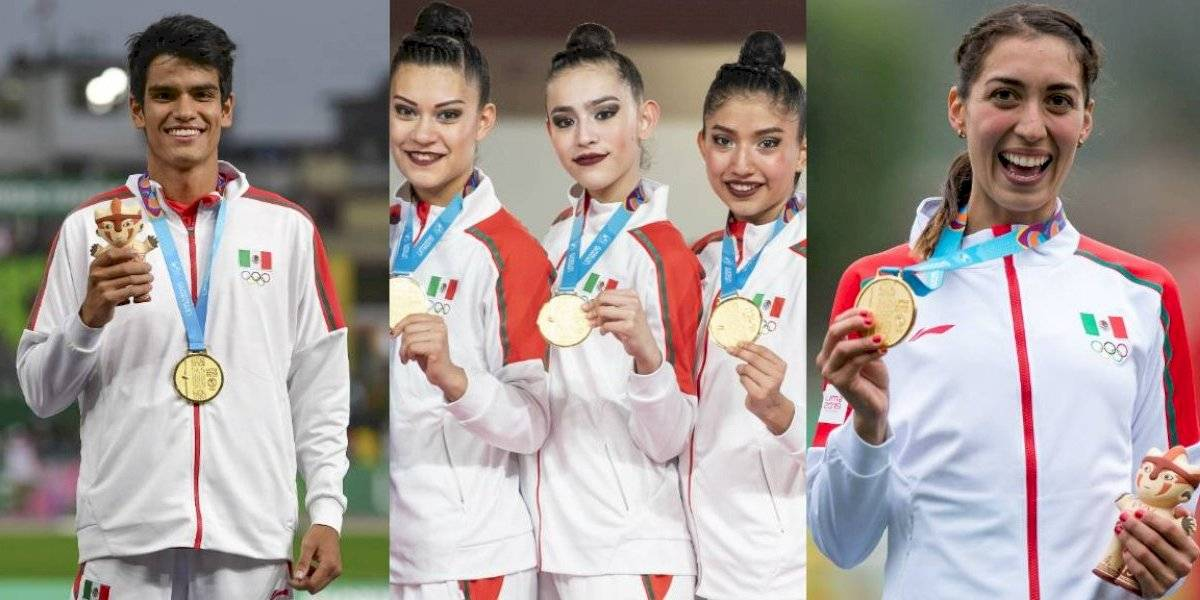 Las medallas de oro que nadie esperaba de México en Lima 2019