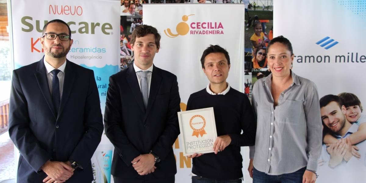 Por un Ecuador sin cáncer de piel: Suncare y Fundación Cecilia Rivadeneira firman convenio
