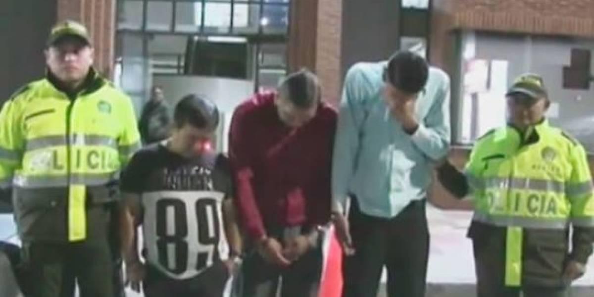Esta banda usaba cuchillos, machetes y pistolas para robar supermercados en Bogotá