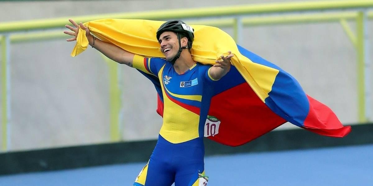 Pedro Causil gana oro en 300 metros contrarreloj de patinaje