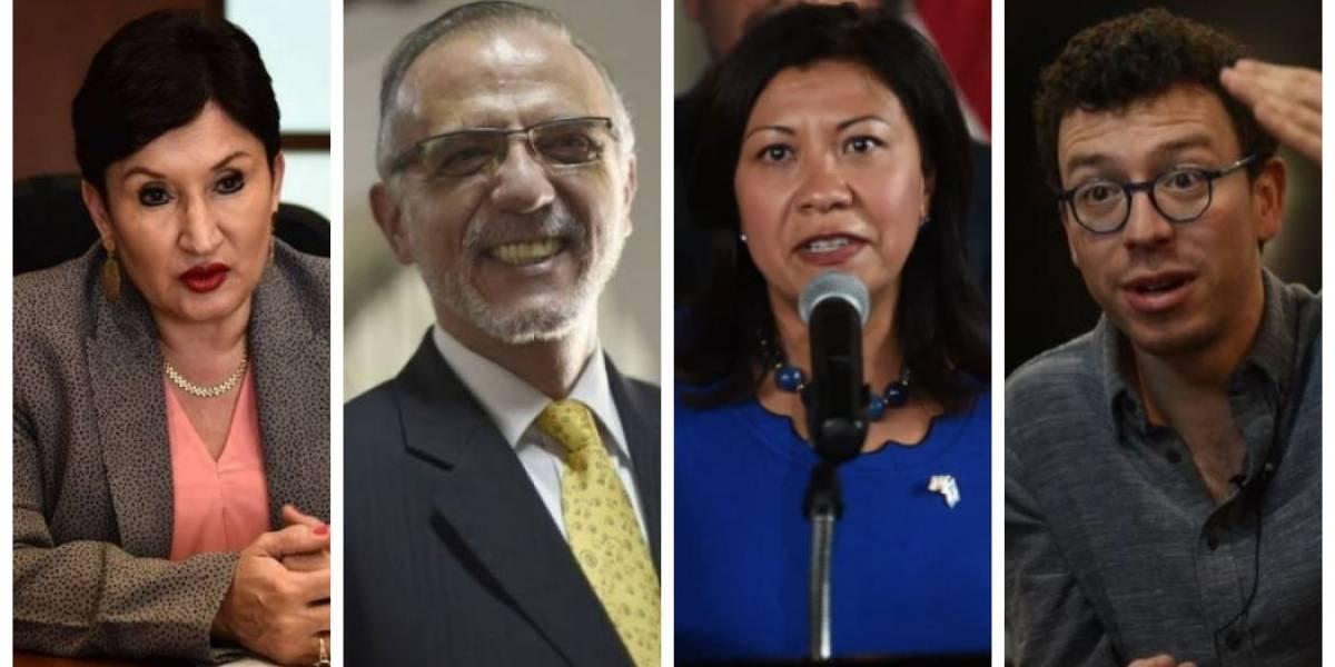 Norma Torres, Luis von Ahn, Thelma Aldana e Iván Velásquez emitirán su opinión en informe final de CICIG