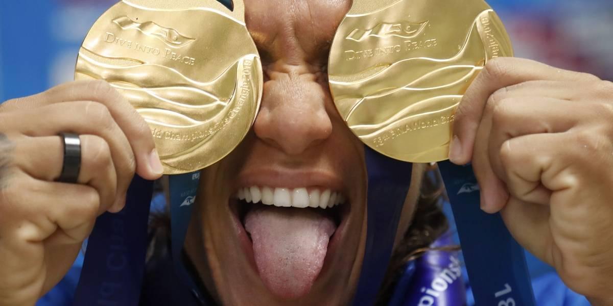 Ouro na Maratona Aquática, Ana Marcela Cunha fala sobre estreia na piscina