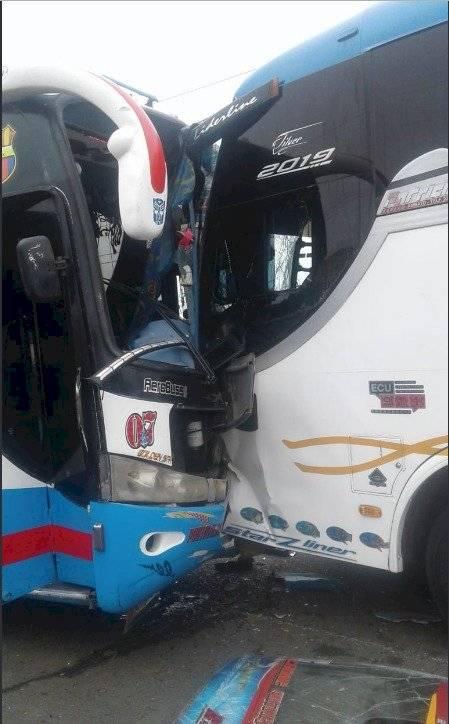 Accidente de tránsito en Manabí