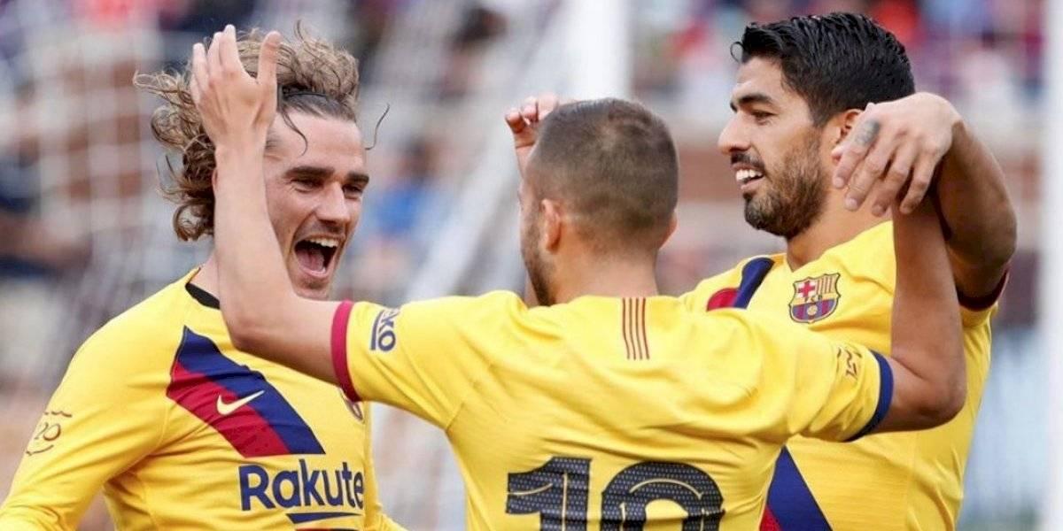 VIDEO: Antoine Griezmann marca su primer gol con el Barça