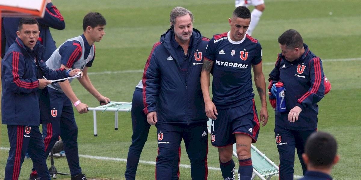 Trastienda de la esperada victoria de la U: Con la visita de Marcelo Díaz y la lesión de Osvaldo González