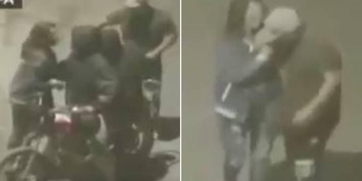 Delincuentes intentan robar a un grupo de jóvenes y en medio del atraco se percatan que estaba su amiga