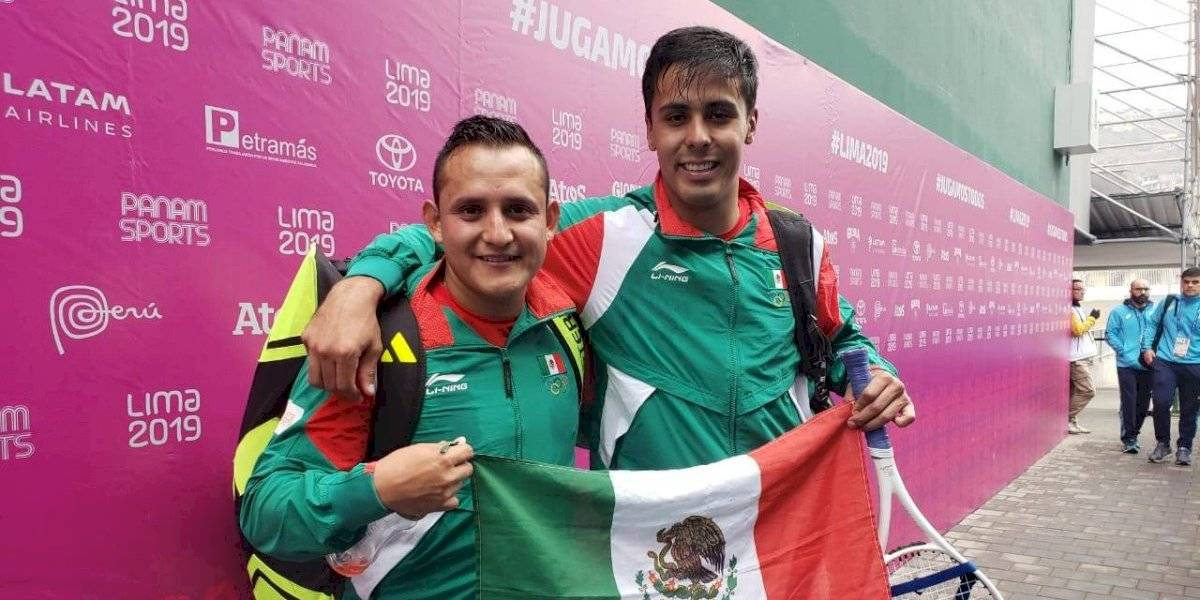 Josue López y Luis Molina dan el oro a México, en frontenis