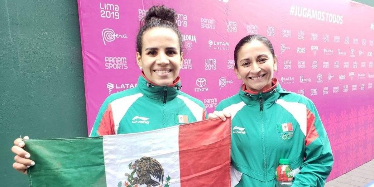Llega el oro 30 para México, en frontenis dobles femenino
