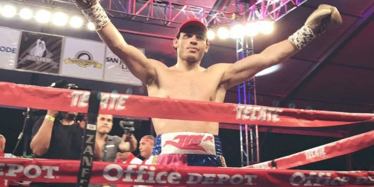 VIDEO: Julio César Chávez Jr derrotó a Evert Bravo con sorprendente K.O en el primer round