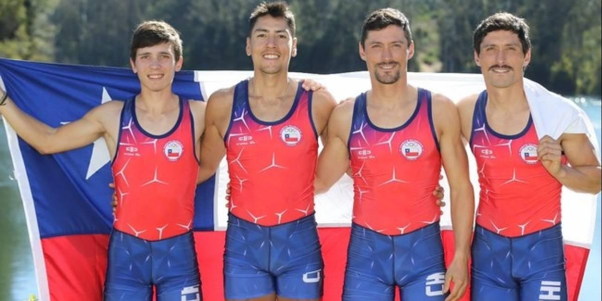 El remo vuelve a hacer de las suyas y le dio al Team Chile el décimo oro en los Panamericanos de Lima
