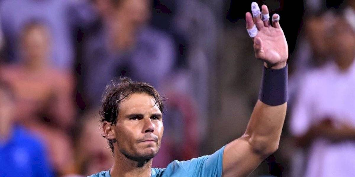 Nadal no jugó y aun así va a enfrentar a Daniil Medvédev en la final del Masters 1.000 de Montreal