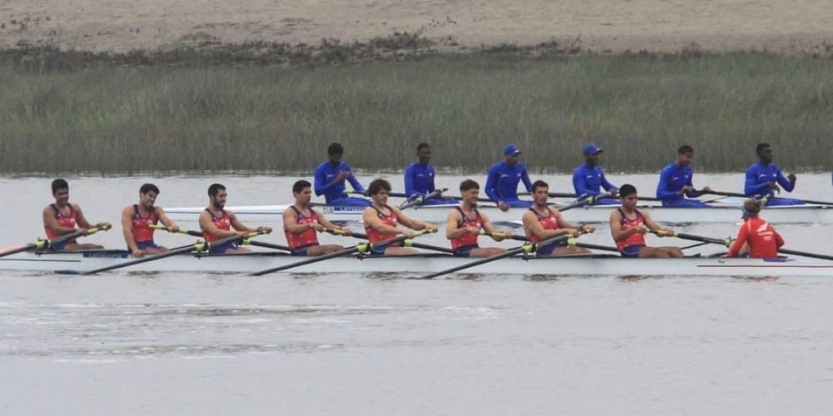 El Team Chile de remo cierra su participación en los Panamericanos con una batallada medalla de plata