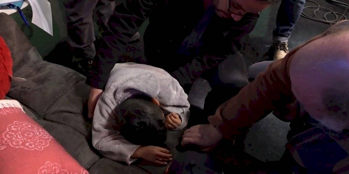 """Miguelito mostró las consecuencias del accidente que sufrió mientras ensayaba en """"Morandé con Compañía"""""""