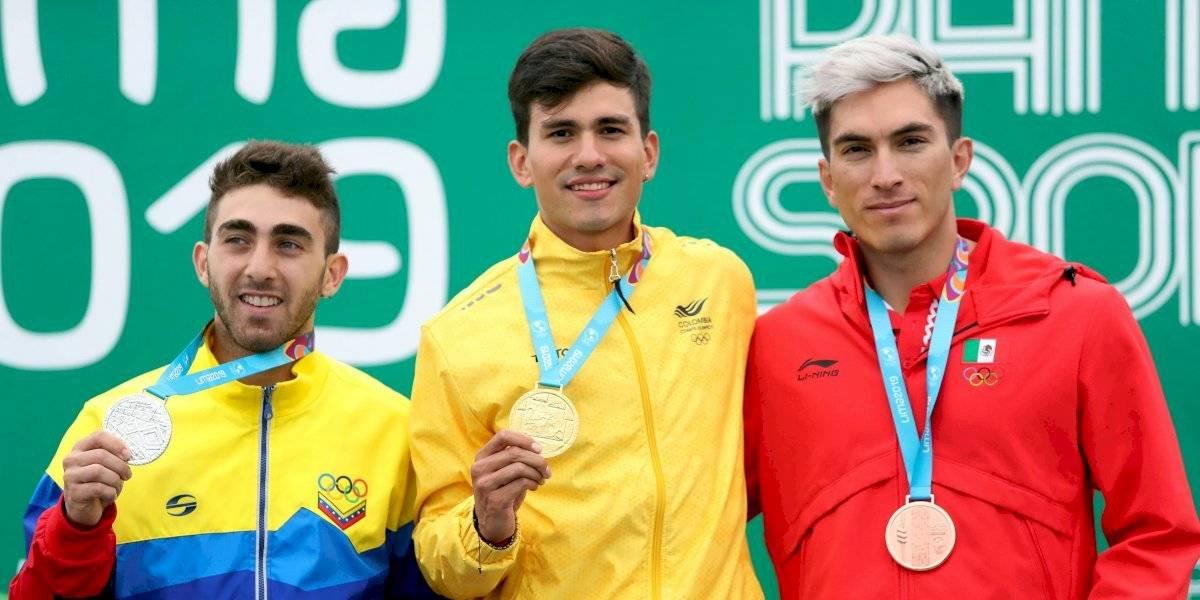 Colombia hace marca perfecta de oros en patinaje de los Juegos Panamericanos Lima 2019