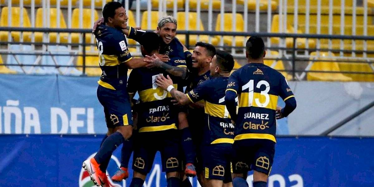 Everton derrotó a Unión Española y se mete en la pelea por ingresar a Copa Sudamericana