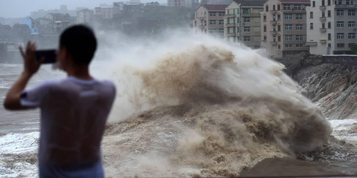 Barrió la costa al sur de Shanghái: tifón Lekima deja 18 muertos y 14 desaparecidos