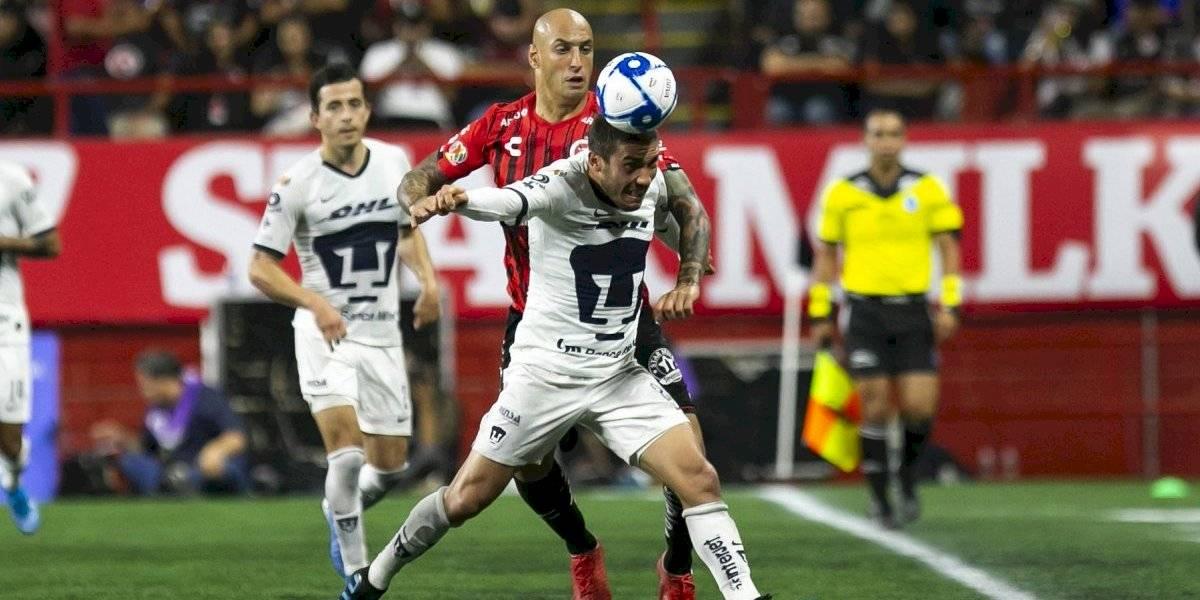 Pumas liga su segunda derrota tras caer ante Xolos