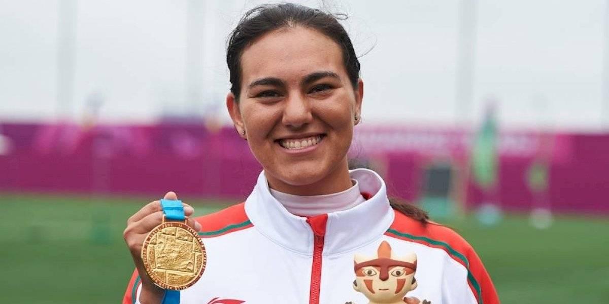 Alejandra Valencia consigue medalla de oro en tiro con arco