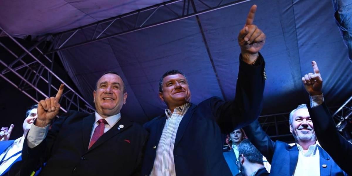 """VIDEO. Alejandro Giammattei se proclama presidente: """"Fueron 12 años de querer este puesto"""""""